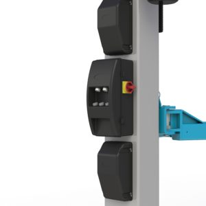 The megalift 4000-3 is backed by a CE accreditation, cementing this as one of the safest vehicle lifts on the UK market today in its price band.
