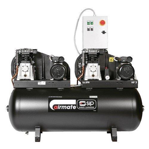 TBDSIP270 - Airmate B3800/270 270 Litre Tandem Air Compressor