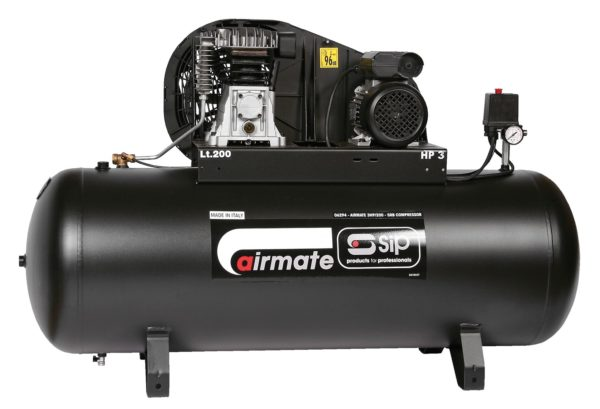 TBDSIP200 (was TBD1300) - Airmate 3hp 200-srb Compressor
