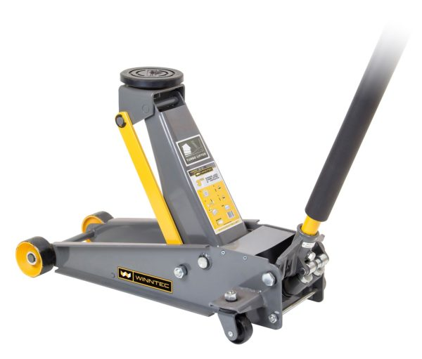 TBD1103 - 3 Ton Turbo Lift Trolley Jack (steel Wheels)