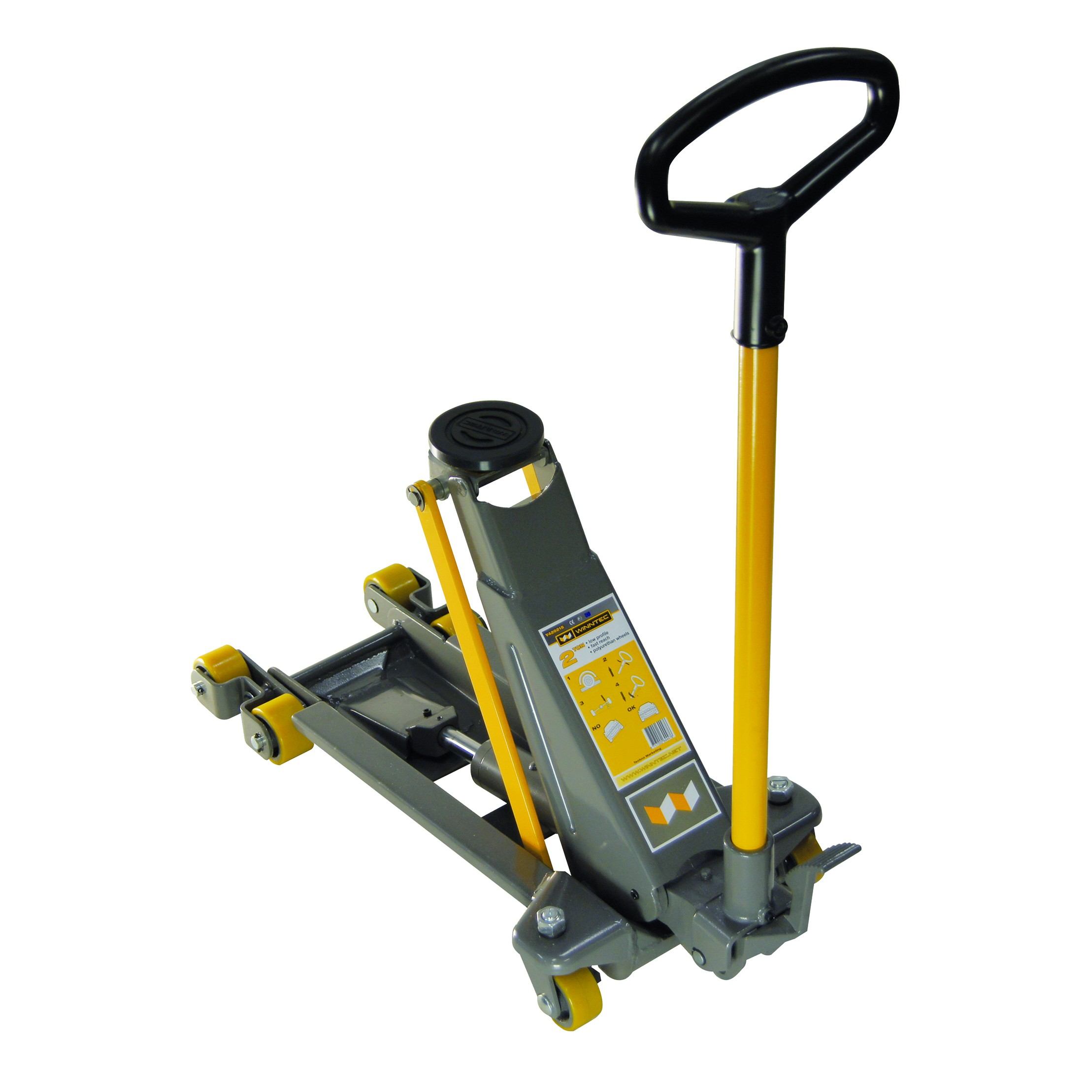Light Jack Stand: 2 Ton Low Profile Trolley Jack