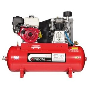 Airmate ISHP8/200 Industrial Air Compressor - Honda Petrol Pull Start