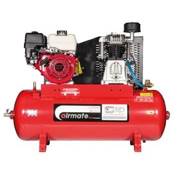 Airmate ISHP8/200 Industrial Air Compressor - Honda Petrol Pull Start