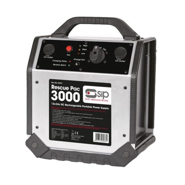 SIP Rescue Pac 3000 Battery Booster (12v/24v) [SIP 03937]
