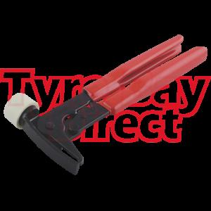 Black Wheel Weight Pliers Tool