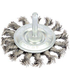 TBD349P - 75mm Twisted Wire Wheel