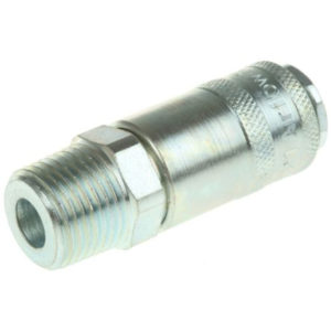 "PCL Pneumatic Quick Connect Coupling Steel ½"" Male"