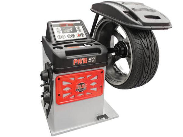 Atlas Platinum PWB50 Wheel Balancer (Off-Centre)