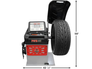 Atlas Platinum PWB50 Wheel Balancer (Front)