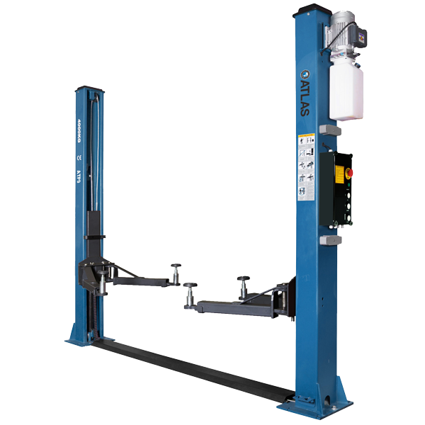 The Atlas ATP9 Two Post Lift is brand new to the UK market exclusively through Tyre Bay Direct.