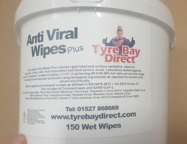 Anti Viral wipes protection from Covid-19