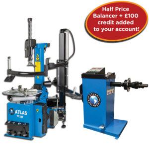 TC320 and half price WBHS wheel balancer