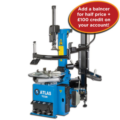 Atlas TC320 Tyre Changer Only