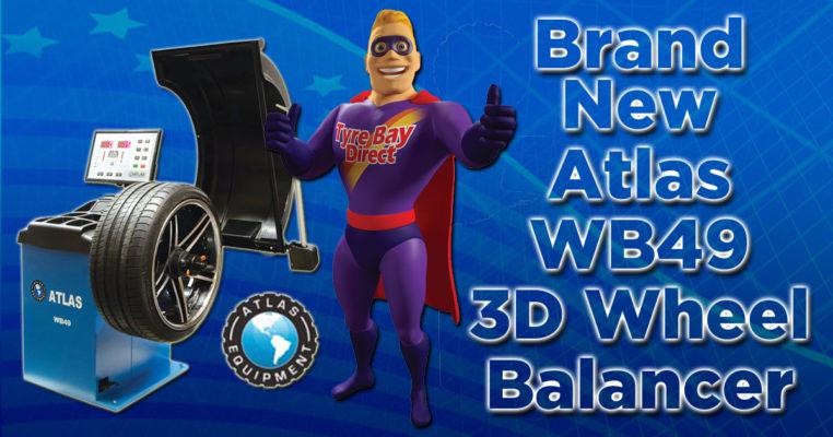 Atlas WB49 Wheel Balancer