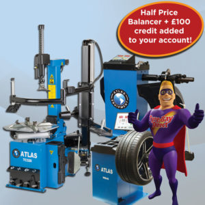 Atlas Tyre Changer and Balancer October Offer