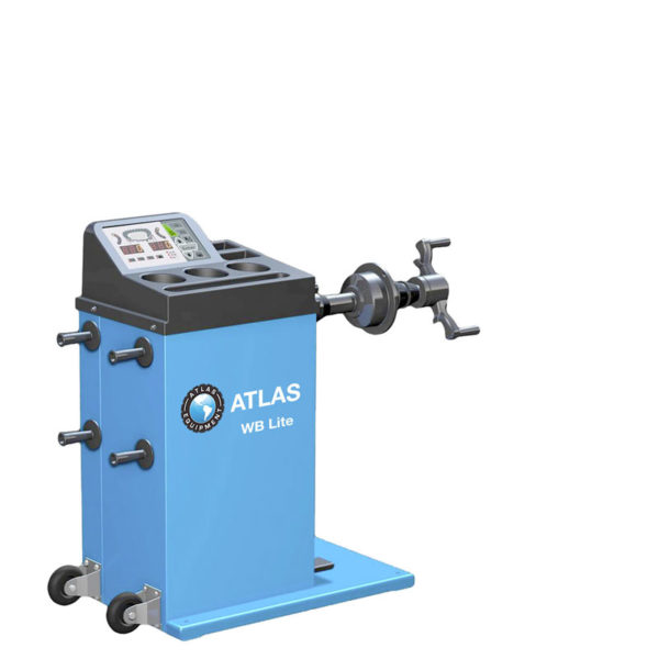 Atlas WB Lite Hand Spin Wheel Balancer Machine for garages from Tyre Bay Direct