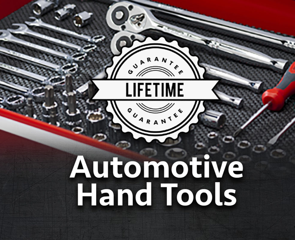 Auto Hand Tools Banner