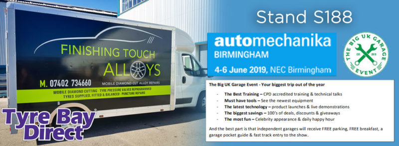 Tyre Bay Direct at Automechanika 2019