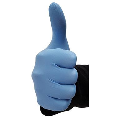 Blue Nitrate Glove