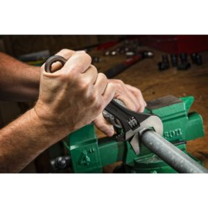 11 Pc. Pass-Thru™ X6™ Black Oxide Adjustable Wrench and Spline Socket Set
