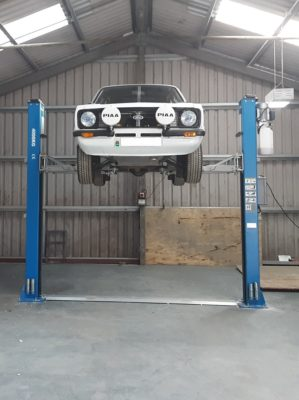 The perfect Two Post Car Lift installation by the ISN Garage Assist engineers.