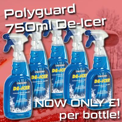 Polyguard De-Icer - Black Friday