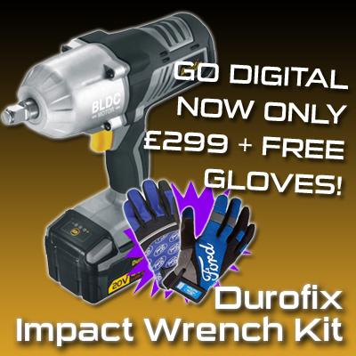 Durofix Impact Wrench Kit - Black Friday