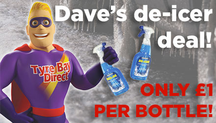 De-icer only £1