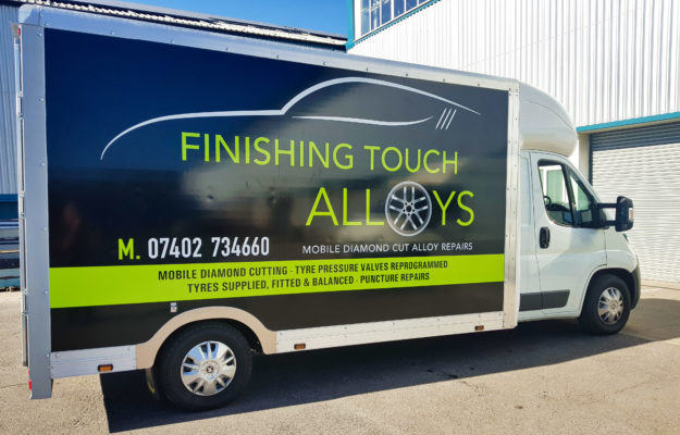 Finishing Touch Alloys Van