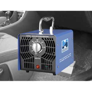 Hofmann Megaplan O-Pro Portable Sanitisation System with vehicle footwell background