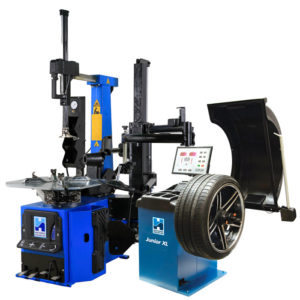 Hofmann Megaplan Elite Tyre Changer and Junior XL Wheel Balancer package