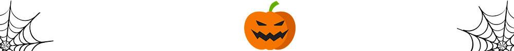 Halloween Banner Footer