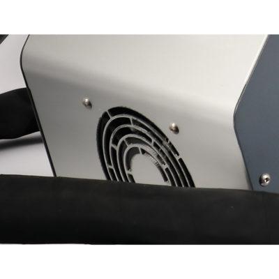 HeatMate ventilation at the rear of the Hofmann Megaplan unit.