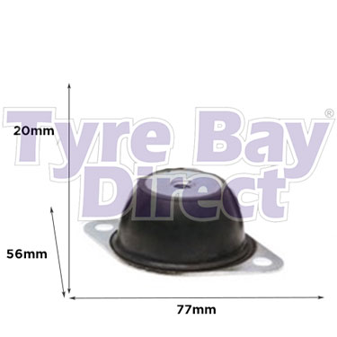 Heavy-Duty-Anti-Vibration-Mount-250KG-Plus-dimensions