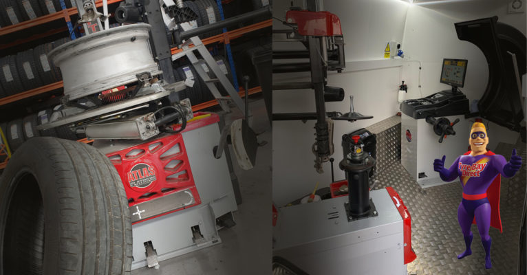 Installed premium tyre changers for our Tyre Bay customers.