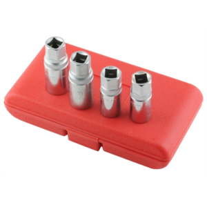 Stud Remover Set 1/2 Dr Metric 4Pc