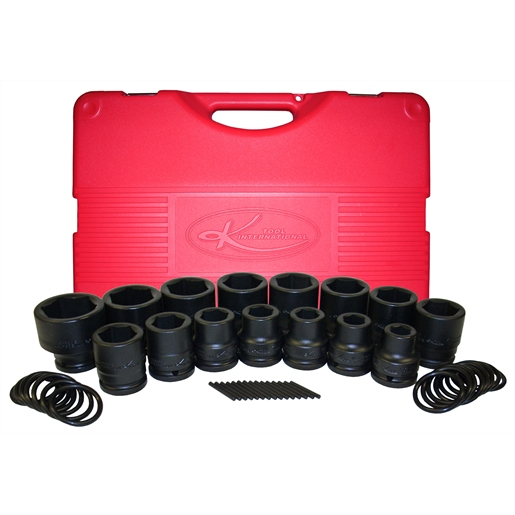 15pc Impact Standard Metric Socket Set 3/4 Drive