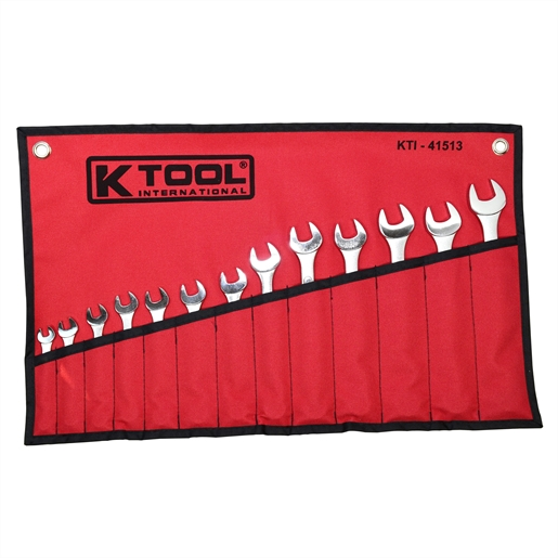 Combination Wrench Set 7-19mm 13Pc