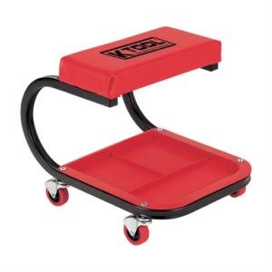 Mechanics Seat with Lower Tool Tray