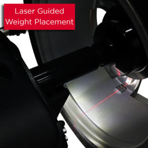 PWB90 Laser Guided Weight Placement