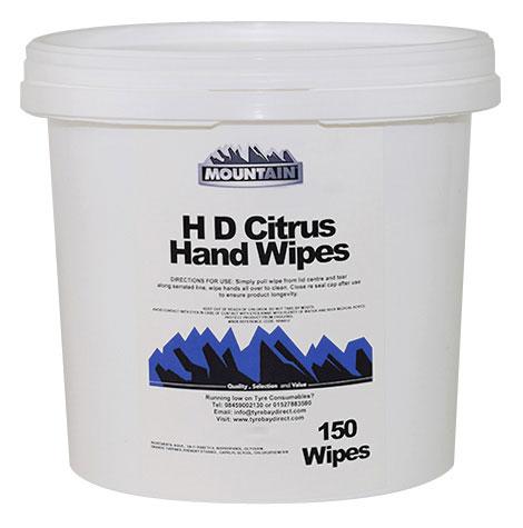 General purpose Citrus Hand Wipes