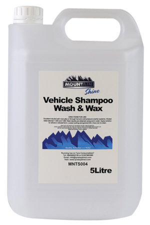 Vehicle wash and wax