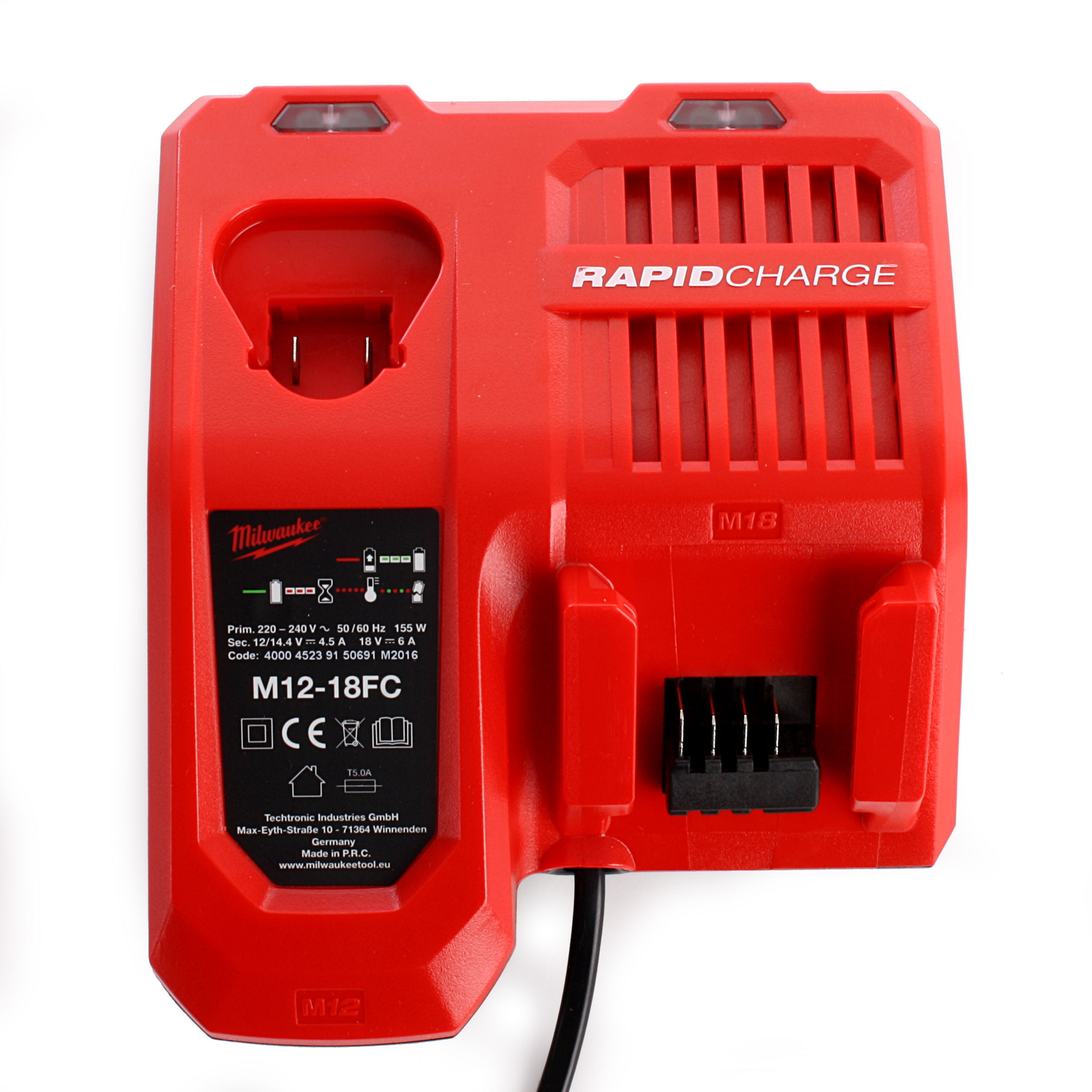 M12 - M18 Fast Charger