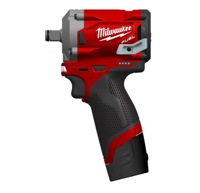 M12 Fuel Impact Wrench 1/4 Dr - Naked