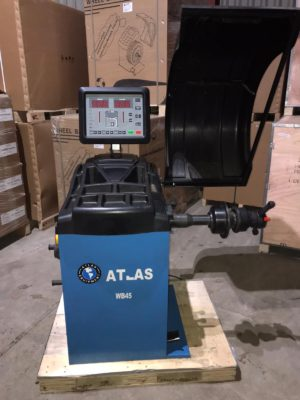 Atlas WB45 Wheel Balancer [Ex-demo 2D option]