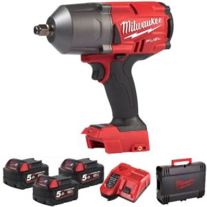 Milwaukee MWM18FHIWF12-503XB High Torque Impact Wrench at Tyre Bay Direct