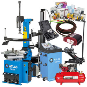 Discover the Atlas Mobile Tyre Fitting Package now with the high-tech TC320 tyre changer.
