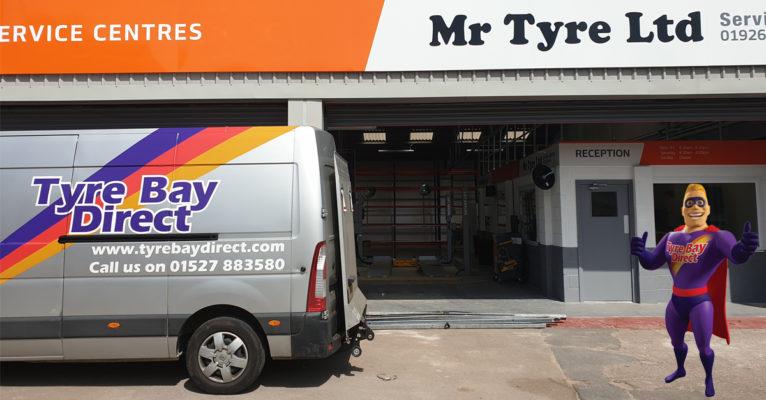 Mr Tyre Warwick Atlas Platinum Equipment Install