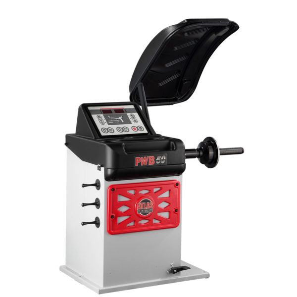 Atlas Platinum PWA50 Wheel Balancer Machine for garages from Tyre Bay Direct.