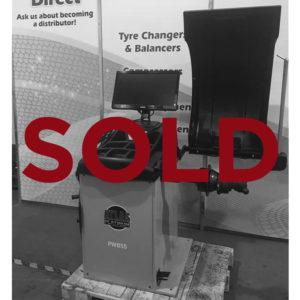 PWB55 second hand wheel balancer sold